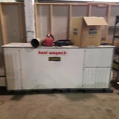 Heat Wagon LP/Natural Gas Indirect Fired Heater, 1MM BTU, Ductable Clean/Dry/Hot