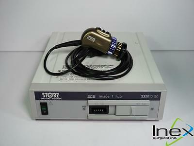 Karl Storz Image 1 HD Camera Processor 22201020 H3 Camera Head 22220150