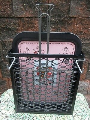Vintage Mid Century MCM  HANG IT ALL Portable Vertical  BBQ Grill Grilling RARE