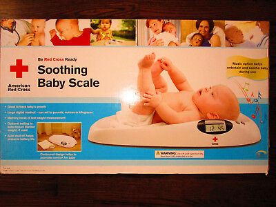 American Red Cross  Soothing Baby Scale Y7150 New