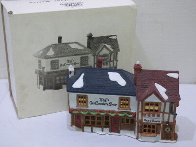 Dept 56 Dickens Village Series The Old Curiosity Shop #5905-6 w/ Cord In Box