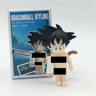 Anime Dragon Ball Z Styling Son Goku Young Ver. PVC Figure New In Box