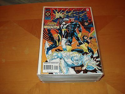 Age of Apocalypse (X-Men Crossover, Marvel Comics, Total 44 Issues, 1995-96)