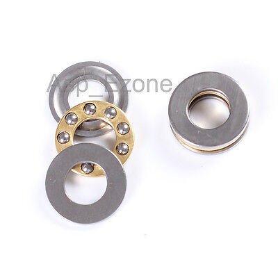 5pcs Ball Thrust Bearing 8mm*16mm*5mm Axial F8-16M 8×16×5mm