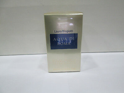 """AQUA DI ROMA-LAURA BIAGIOTTI"" PROFUMO DONNA EDT 50/100ml-BODY LOTION-SHOWER GEL"