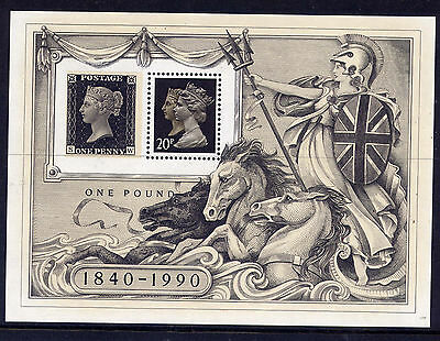Gb 1990 London 90 International Stamp Exhibition Miniature Sheet Mnh