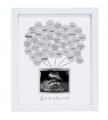 Pearhead Sonogram Baby Shower Guestbook Frame