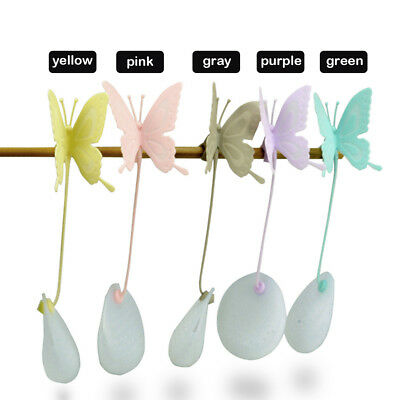 Silicone Cute Butterfly Shaped Tea Leaf Filter Strainer Herbal Spice Infuser