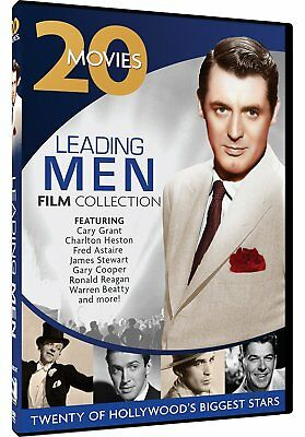 Leading Men Film Collection: 20 Movies The Animal Kingdom + More Box/DVD Set NEW
