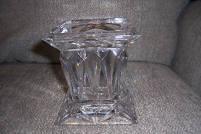 "Partylite Quad Prism Candle Holder 5"" Tall"
