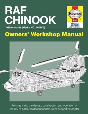 RAF Chinook Manual (Owners Workshop Manual) (Hardcover), McNab, C., 97808573340.