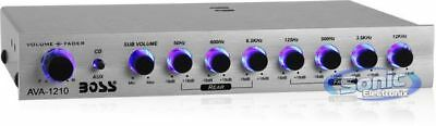 Boss AVA1210 7-Band Graphic Equalizer w/ Subwoofer Output