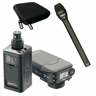 Rode RODELink Newsshooter Kit Digital Wireless System w/Rode Reporter Microphone