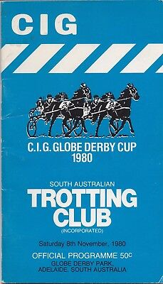 1980  Globe  Derby,  S.a.  Pacing Cup Race Book