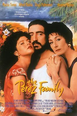 The Perez Family Original D/S One Sheet Rolled Movie Poster 27x40 NEW 1995