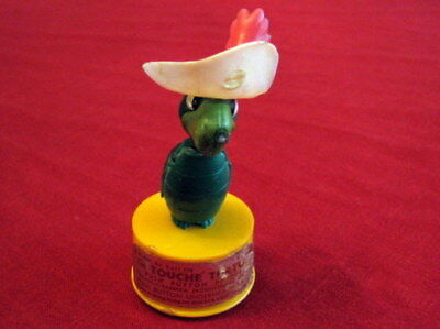 Vintage Hanna-Barbera Touche Turtle Push Puppet Toy by Kohner