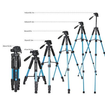 Portable ZOMEI Q111 Aluminium Tripod Heavy Duty & Flexible for DSLR Camera