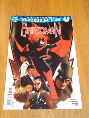 Batwoman #1 Dc Universe Rebirth May 2017 Nm (9.4)