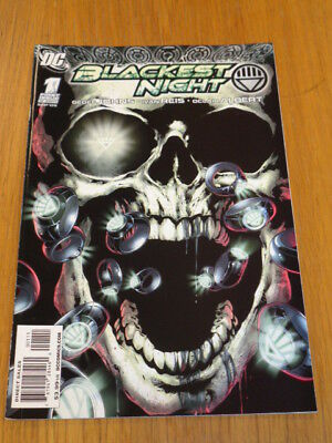 Blackest Night #1 Dc Comics September 2009 Nm (9.4)