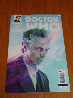 Doctor Who #14 Twelfth Doctor Year Two Titan Comics Cover A March 2017 Nm (9.4)