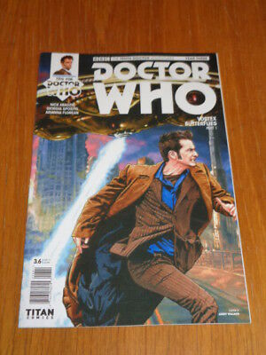Doctor Who #3.6 Tenth Doctor Year Three Titan Comics Cover D July 2017 Nm (9.4)