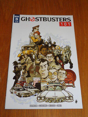 Ghostbusters 101 #5 Idw Comics Cover B July 2017 Nm (9.4)