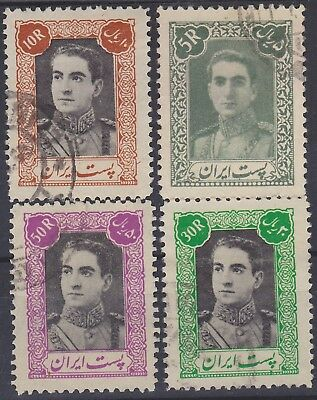 205) Persia/ir An  1942  - Used Selection  - Perfect