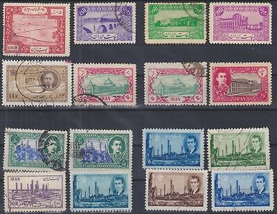 210) Persia/ir An  1942 / 1966  - Used Selection  - Some Mint Lh  - Perfect