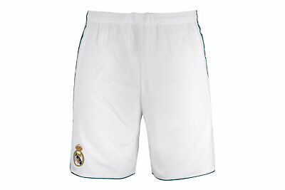 adidas Mens Real Madrid 17/18 Home Players Authentic Football Shorts Pants Sport