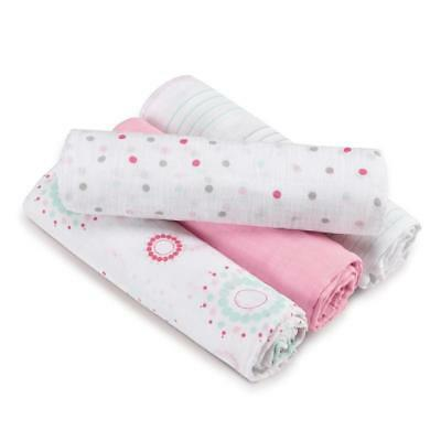 aden(R) by aden+ anais(R) swaddleplus(R) 4 Pack - Sweet in Pink