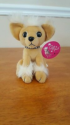 """American Greetings faux paws Chihuahua plush Rare with tags 6"""""""