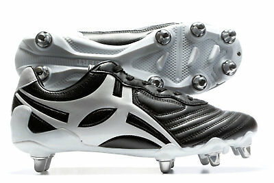 Gilbert Celera V3 Hard Toe 8 Stud SG Rugby Boots Shoes Footwear Sports Training