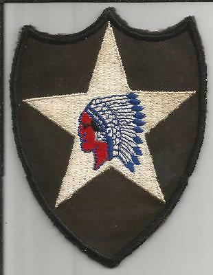 WW 2 US Army 2nd Infantry Division Twill Patch Inv# H465