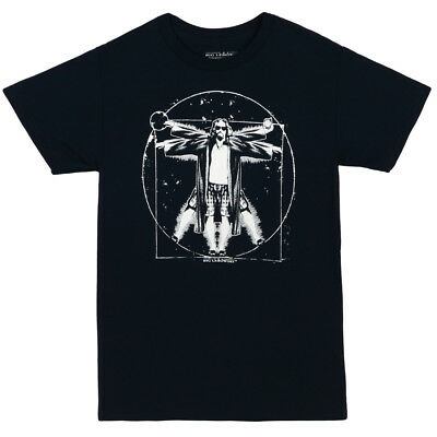 The Big Lebowski The Dude As Vitruvian Man Licensed Adult T-Shirt