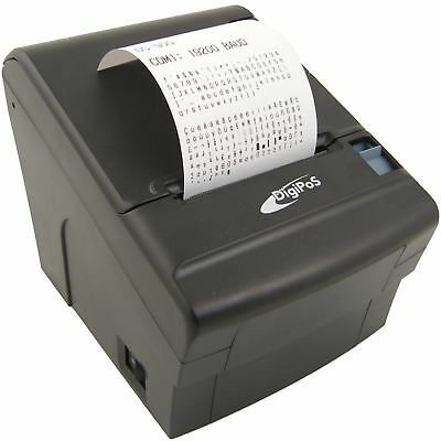 DIGIPOS DS 920 THERMAL Receipt Printer Black USED Serial USB