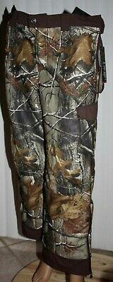 34d5d91321c40 Under Armour Boy's RealTree Camo Outdoor Hunting Loose Fit Pants Sz YXL NWT  **