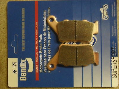 Bendix 175-Mr Lc4 620 Super Competition 2001 Rear High Performance Sintered Pads