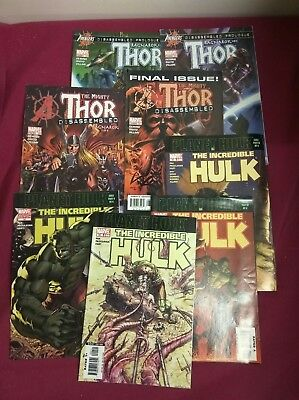 Incredible Hulk 92 + Extras Thor Ragnarok ! 8 issues in total