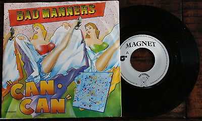 Bad Manners: Can Can / Armchair Disco - 7'' Single (1981)