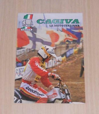 CAGIVA 125, 250 & 350cc Range Motorcycle Specifications Brochure