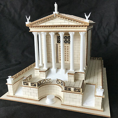 Linear B Models 1/72 THE TEMPLE OF CAESAR in the Roman Forum