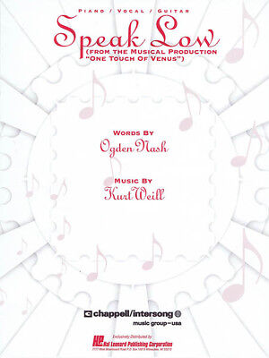 Speak Softly Love Song For Piano Vocal Sheet Music Guitar Chords