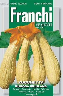 Franchi Seeds of Italy - Courgette - Rugosa Friulana - Seeds