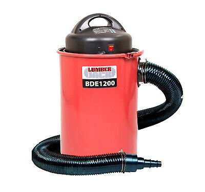 Lumberjack BDE1200 Workshop 50L Dust Collector Extractor Vacuum 100mm Hose 240v