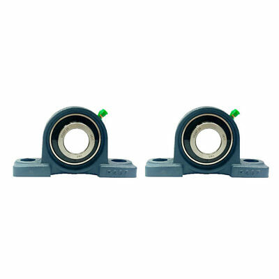 "2x UCP207-20 1-1/4"" Pillow Block Bearing"