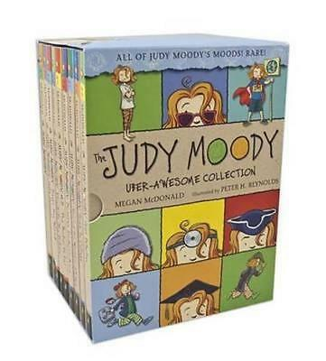NEW The Judy Moody Uber Awesome Collection By Megan McDonald Hardcover