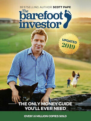 NEW The Barefoot Investor 2018 Update  By Scott Pape Paperback Free Shipping