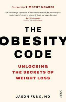 NEW The Obesity Code By Jason Fung Paperback Free Shipping