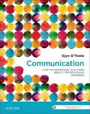 NEW Communication By O'TOOLE Paperback Free Shipping