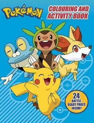 NEW Pokemon Colouring and Activity Book Paperback Free Shipping